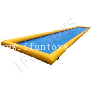 Durable Inflatable Water Skimboard Pool / Waterboard Pool / Inflatable Aqua Skimpool for Outdoor Sports