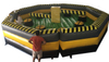 8 Person Double Poles Toxic Inflatable Meltdown / Eliminator / Last One Standing Wipeout Obstacle Courses for Sale