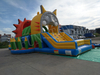 Inflatable Tiger Obstacle Race Course Combo / Inflatable Run Obstacle for Amusement Park