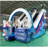 Commercial inflatable frozen bouncy castle with slide/ frozen jumping castle /inflatable dry slide for kids