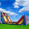 Outdoor inflatable Zip Line slide /giant inflatable slide for kids and adults