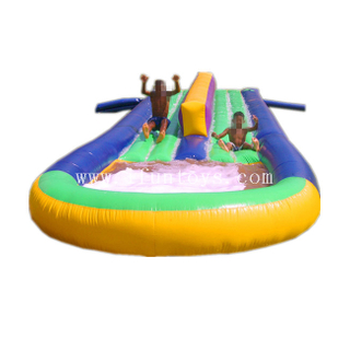 Double Lane Inflatable Water Slide /Inflatable Slip N Slide /Inflatable Foam Water Slide for Kids