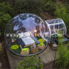 Outdoor Inflatable Transparent Bubble Dome / Bubble Room / Bubble Hotel Tent with Steel Tube Supplier