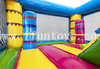 Inflatable Flamingo Jumping Bounce Castle / Trampoline Club House for Party