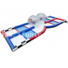 Portable Inflatable Bubble Ball Race / Zorb Ball Rack Track / Inflatable Zorb Ball Lanes