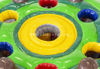 Interactive IPS lights Inflatable Whack a Mole game/ whack-a-mole HIT EDITION interactive game for kids and adults