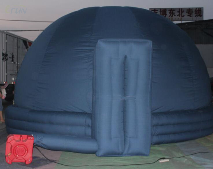 Portable Inflatable Planetarium Projection Dome Tent/ inflatable cinema tent /inflatable movie star projection tent for Sale