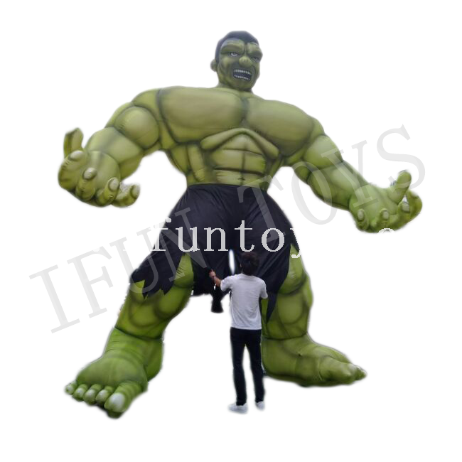 Giant Inflatable Muscle Man / Inflatable Monster Hulk for Outdoor Advertising