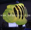 LED Inflatable Fish Decoration / Hanging Gold Fish with LED RGB Light for Party / Event