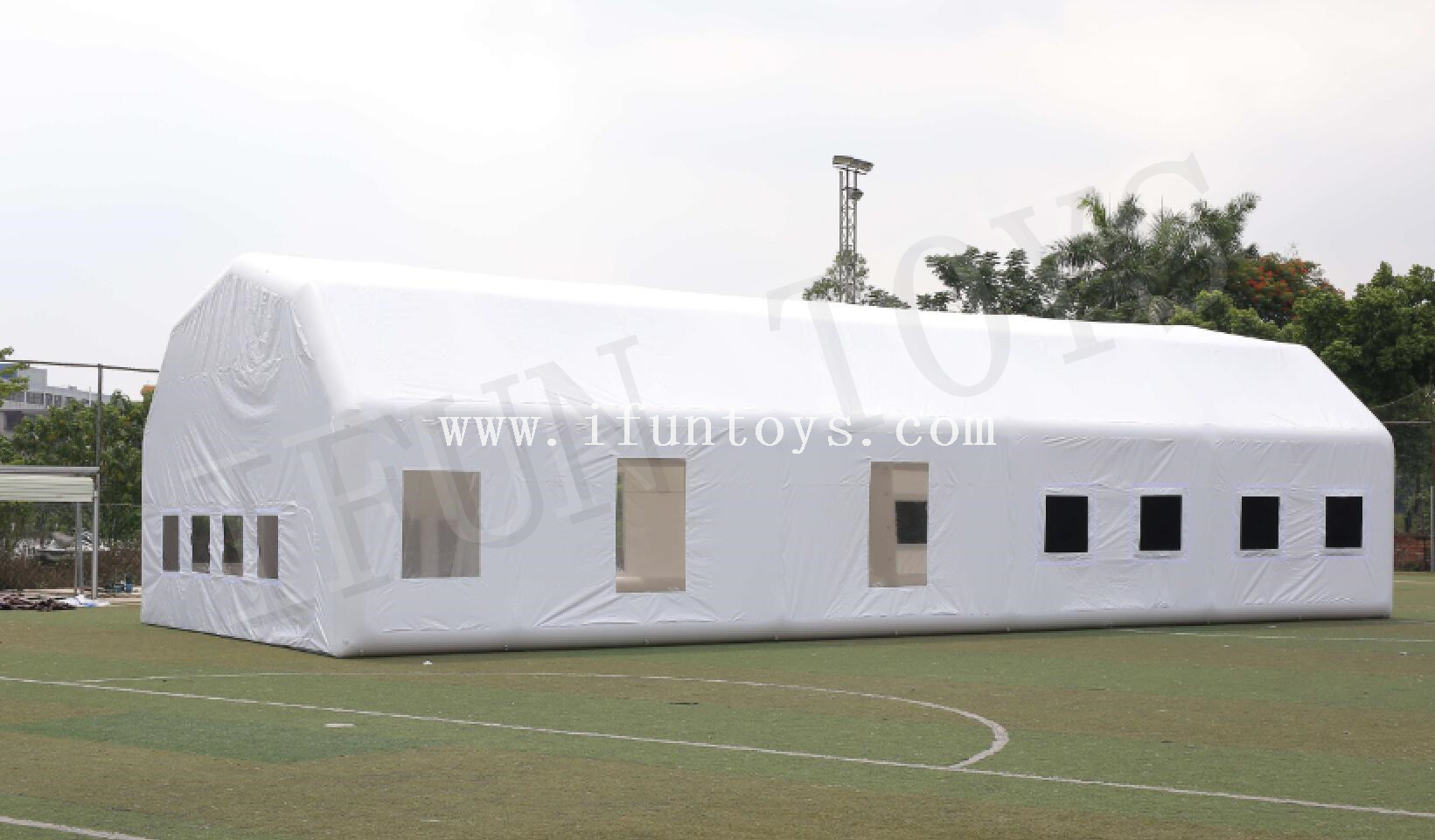 Air Sealed Outdoor Inflatable Party Tent / Giant Sport Tennis Court Tent for Sales
