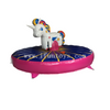 Giant Inflatable Pull Riding Unicorn Rodeo Games for Kids And Adults