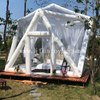 New outdoor glamping Inflatable bubble lodge tent / bubble room hotel for night sky scenery