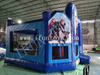 Inflatable Frozen Bouncy Castle with Slide / Kids Play Park / Playground Fun City