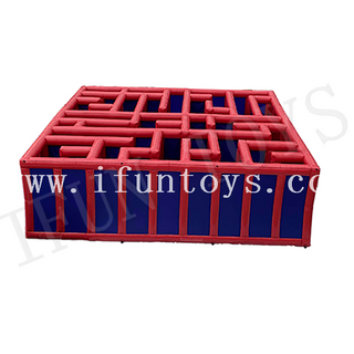 Interactive Inflatable Maze Game / Maze Obstacle / Inflatable Ladybirth Maze for Kids And Adults