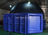 Mobile digital planetarium inflatable Cinemas dome/Projection inflatable dome tent for indoor use