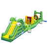 Inflatable Crocodile Aqua Run Obstacle/ Inflatable Floating Water Obstacle Course /Inflatale Pool Obstacle for Kids