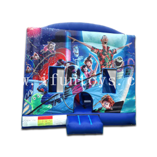 Hotel Transylvania Combo Bouncy Castle Inflatable Kids Play Trampoline Jumping Castle