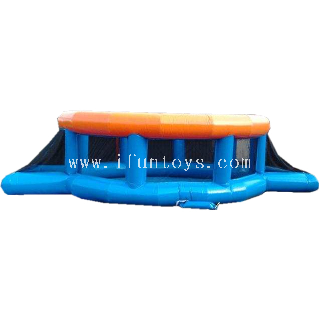 Factory Outlet Inflatable Street Soccer Sport Inflatable Panna Soccer Cage Freestyle Football Arena for Practice