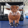 Moving Spain Inflatable Bull Costume / Inflatable Buffalo Costume for Parade Party