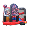 Avengers Playzone Inflatable Combo with Slide / Superhero Bouncer House Trampoline Playground for Kids