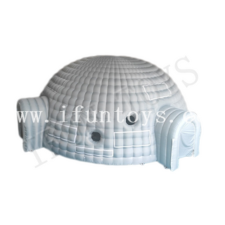 Outdoor Inflatable Igloo Tent / Dome Buildings / Dome House Tent for Party