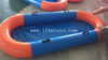 Hot sale in the same boat Inflatable race game /inflatable airship relay race for adults and kids team building game/inflatable corporate game