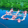 Big Inflatable forest Water Floating Island Aquatic Amusement Park for Kids And Adults