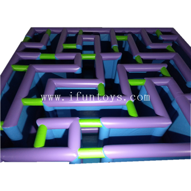 Cheap portable inflatable maze for laser tag / water tag/nerf war/paintball arena for sale