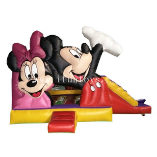Inflatable Mickey Mouse Bouncy / Mickey Mouse Inflatable Clubhouse / Disney Inflatable Jumping Castle for Kids