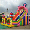 Mickey Mouse and Donald Duck cartoon themed bouncy slide/inflatable dry slide/inflatable playground for kids