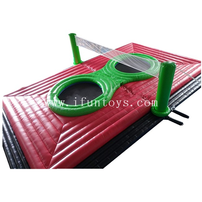 Beach Inflatable Bossball Court Game ,Inflatable Volleyball Field for Sale