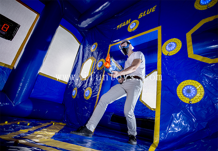 New style outdoor interactive inflatable rival arena/portable inflatable battle arena/ Battle zone Inflatable Game Field
