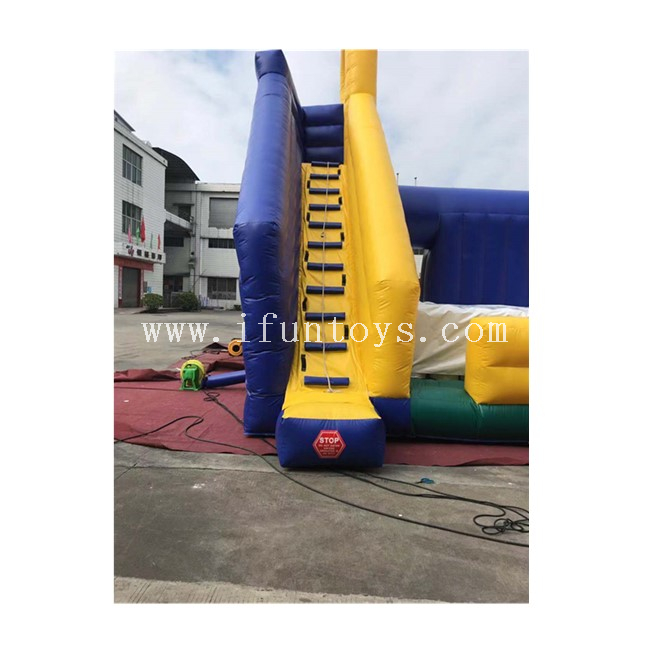 Inflatable Jousting Game / Inflatable Battle Zone Jousting Balance Challenge Game for Sale
