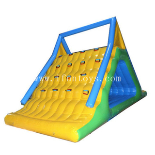 New Design Inflatable Water Toys /Inflatable Water Summit Slide/inflatable aquatic slides toys for water park