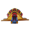 Inflatable Volcano Slide / Pyramid Inflatable Water Slide / Inflatable Water Slide Park for Kids And Adults