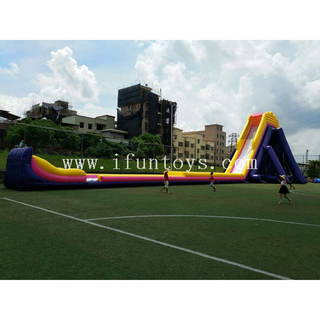 The world's biggest hippo water slide / inflatable beach water slide / slip N slide for sale in stock