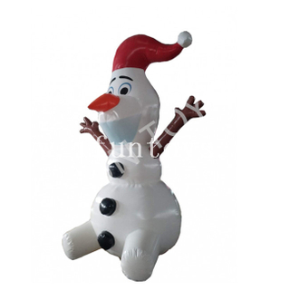 Inflatable Festive Snowman for Outdoor X'mas Decoration