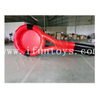 Giant Inflatable Tennis Racket Running Game / Outdoor Sport Inflatable Team Building Game