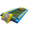 Outdoor inflatable human foosball table sport interactive games for adults