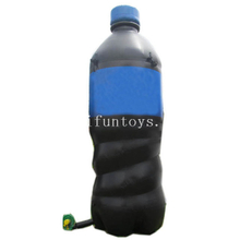 Custom Giant Inflatable Replica Drinking Coke Bottle or can for Advertising