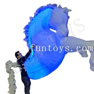 LED Inflatable Walking Horse Costume / Horse Puppet for Parade