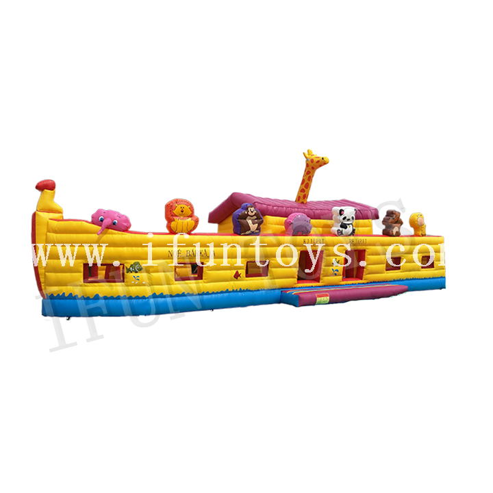Noah's Ark Inflatable Bounce House / Jumping Castle for Kids Playground