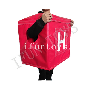 Moveable Inflatable Letter Suit / Box Suit with Letter for Party / Event