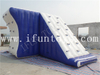 Water Park Toys Floating Inflatable Jumping Tower / Climbing Water Tower with Slide for Summer