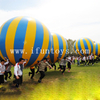 Hot sale colorful and Attractive funny team building game /inflatable big ball for sport game/inflatable corporate game