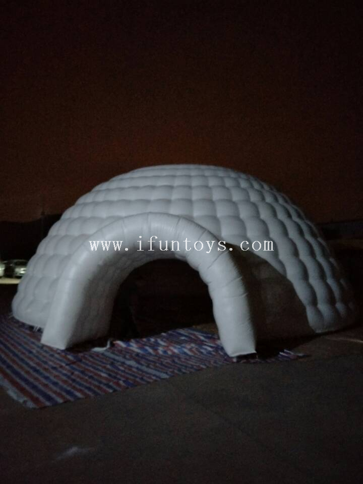 Outdoor Giant inflatable yurt tent/ inflatable lawn dome tent/inflatable igloo tent for event*party