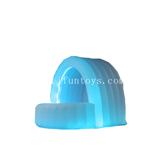 Outdoor LED lighting inflatable Serving bar /Inflatable DJ booth /Inflatable Bar Buffet for party&event