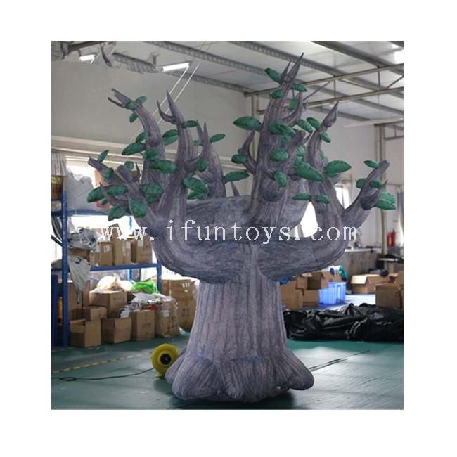 3m Tall Inflatable Tree / Plant Tree Model for Outdoor Advertising