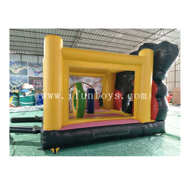 Disney Mickey Mouse Inflatable Clubhouse / Bouncy Jumping Castle with Slide for Kids