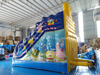 Funny inflatable spongebob squarepants water slide /inflatable dry slide for amusement park